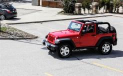 2014 Jeep Wrangler driving