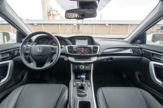 2014 Honda Accord Coupe EX-L V6 interior