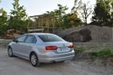 2014 Volkswagen Jetta TDI rear 1/4