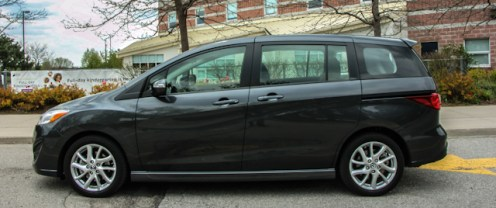 2014 Mazda5 GT side profile