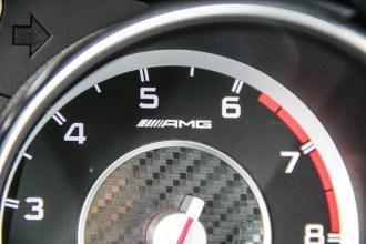 2014 Mercedes-Benz CLA45 AMG tachometer