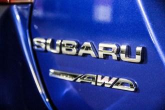 2015 Subaru WRX Sport trunk emblem
