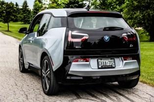 2015 BMW i3 rear 1/4