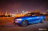 2014 BMW M235i side profile