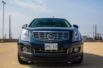 2014 Cadillac SRX front
