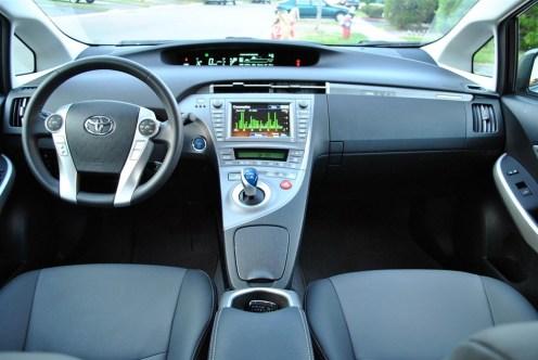 2014 Toyota Prius Plug-In interior