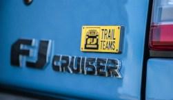 2014 Toyota FJ Cruiser rear emblems
