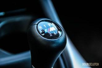 2014 BMW M235i shifter