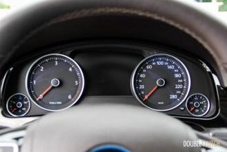 2014 Volkswagen Touareg TDI instrument cluster