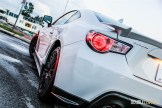 2015 Subaru BRZ rear side profile