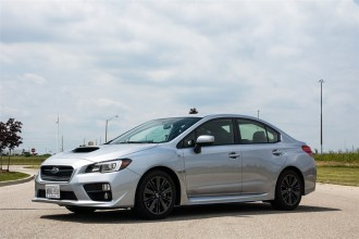 2015 Subaru WRX Sport-Tech front 1/4