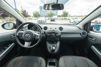 2014 Mazda2 GS wide interior shot