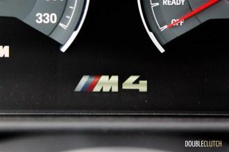 2015 BMW M4 instrument cluster logo