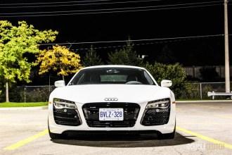 2015 Audi R8 4.2 front night