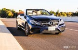 2014 Mercedes-Benz E350 Cabriolet front 1/4