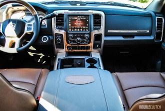 2015 Ram 2500 Long Horn interior
