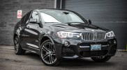 2015 BMW X4 xDrive35i front 1/4