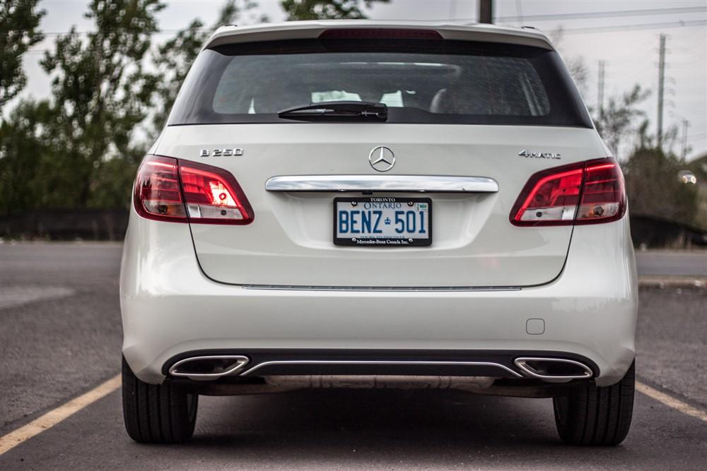 2015 Mercedes Benz B250 4matic Review