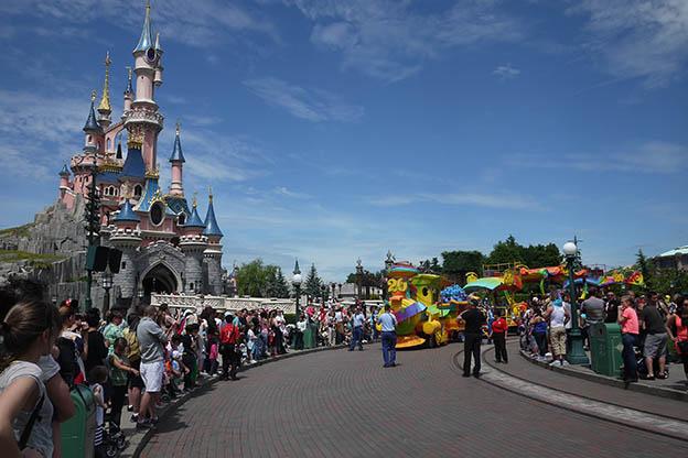 Disneyland avec un bébé, disney, mickey