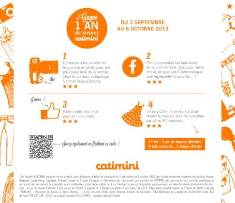 Jeu concours Catimini (2)