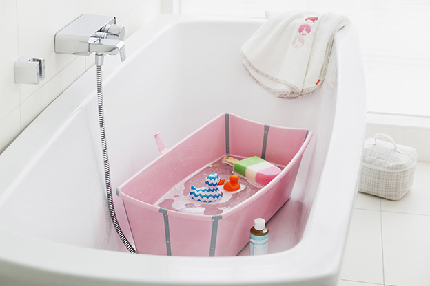 Stokke Flexi Bath Pink 140402-6