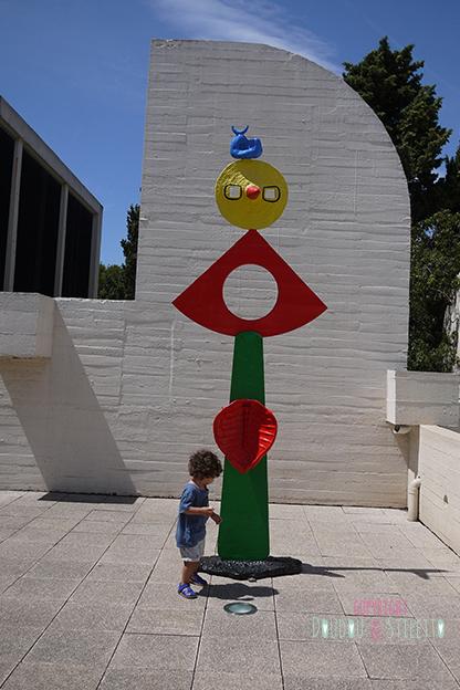 Musée miro Barcelone