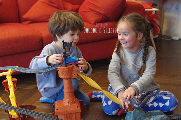 Thomas & ses amis tourbillon de l'épave fisher price