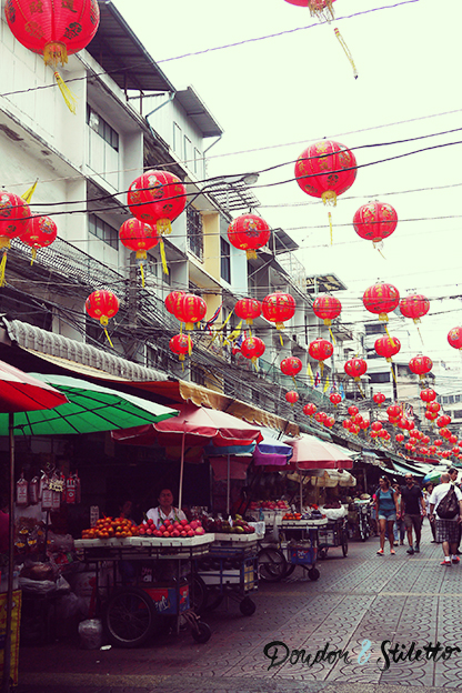 Yaowarat, quartier chinois