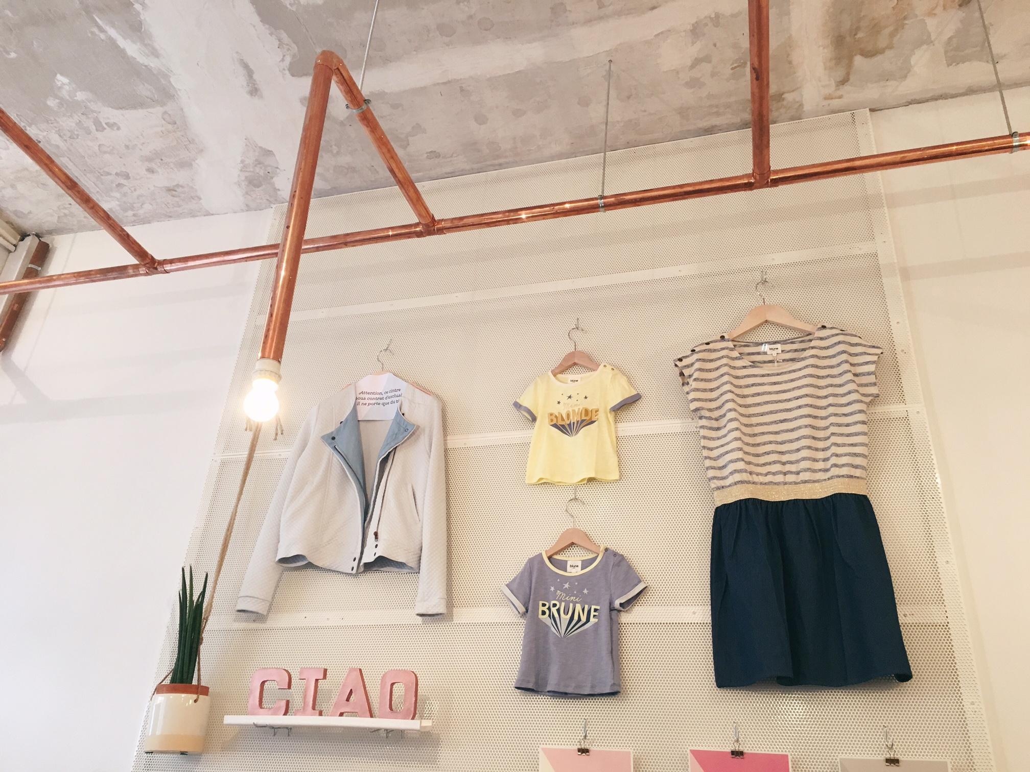 la première boutique blune a ouvert - doudou & stiletto