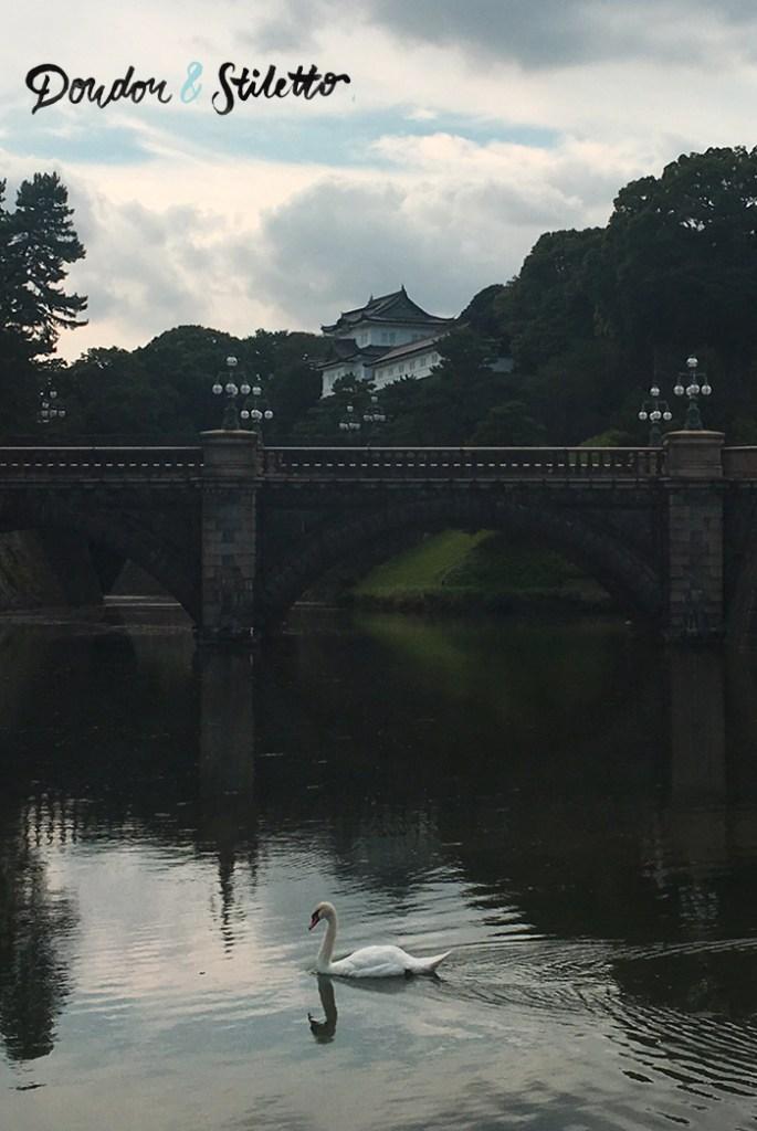 Jardins palais impérial tokyo