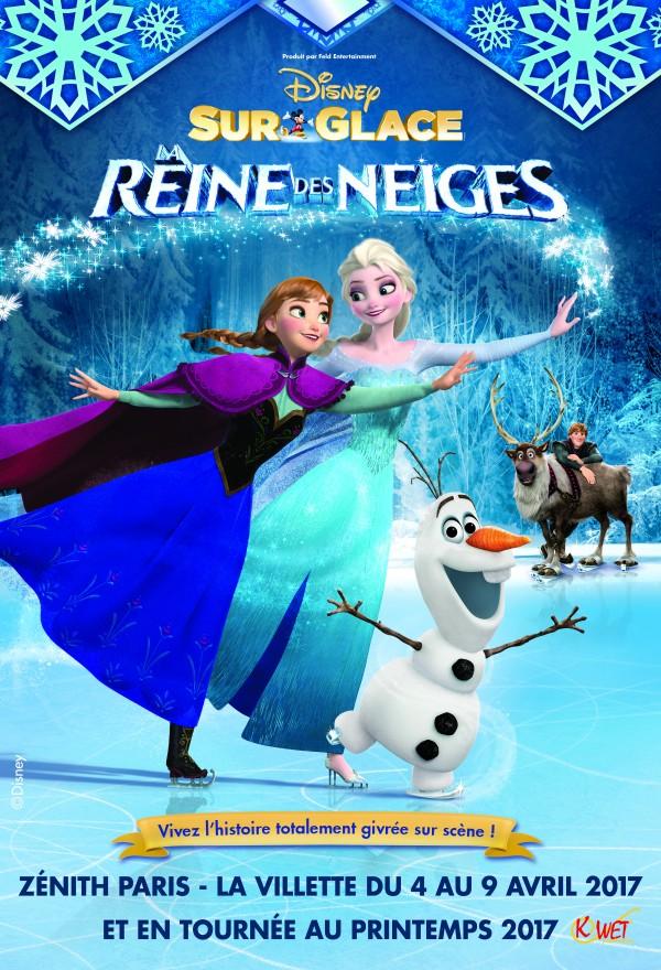 Disney sur glace la reine des neiges