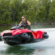 Gibbs Quadski – how an ATV becomes a jetski
