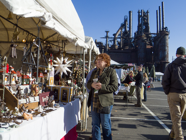 Christkindlmarkt at Bethlehem, PA