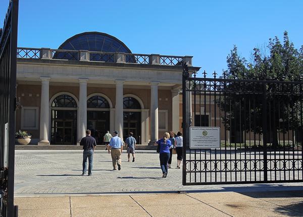Arlington National Cemetery gate