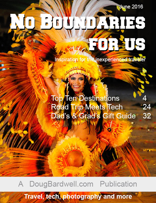 No Boundaries For Us - June 2016 issue