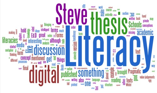 Wordle - meeting with Steve Higgins