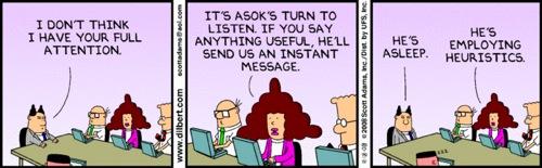 Dilbert - heuristics