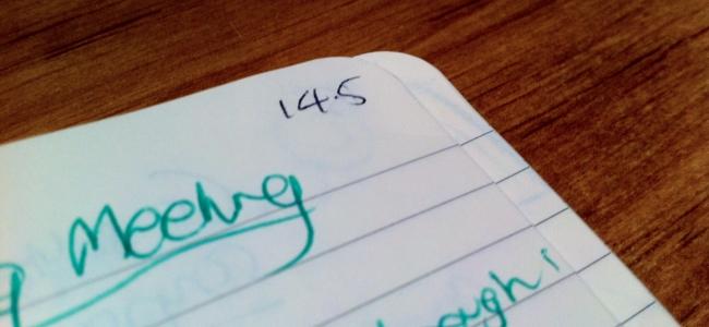 Moleskine Notebook - page numbers