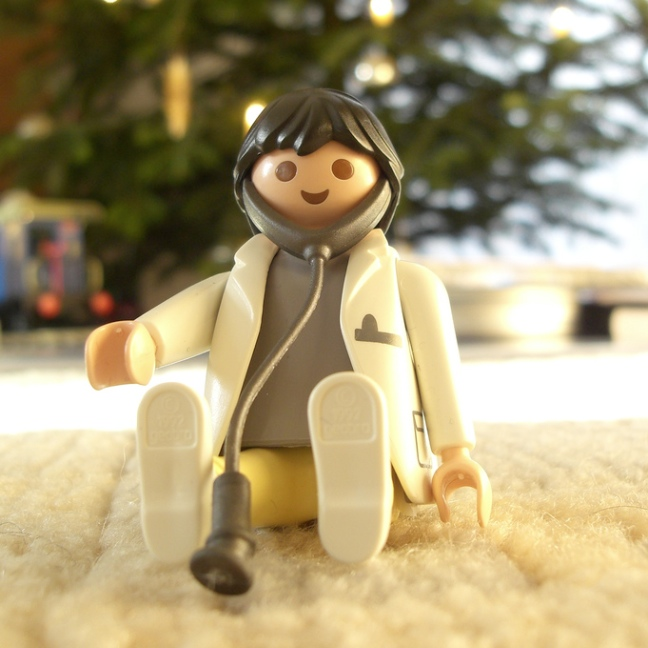 doctor minifig