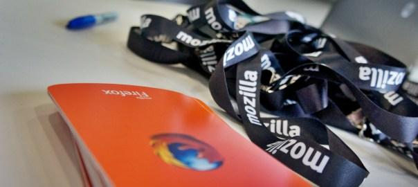 Mozilla lanyards