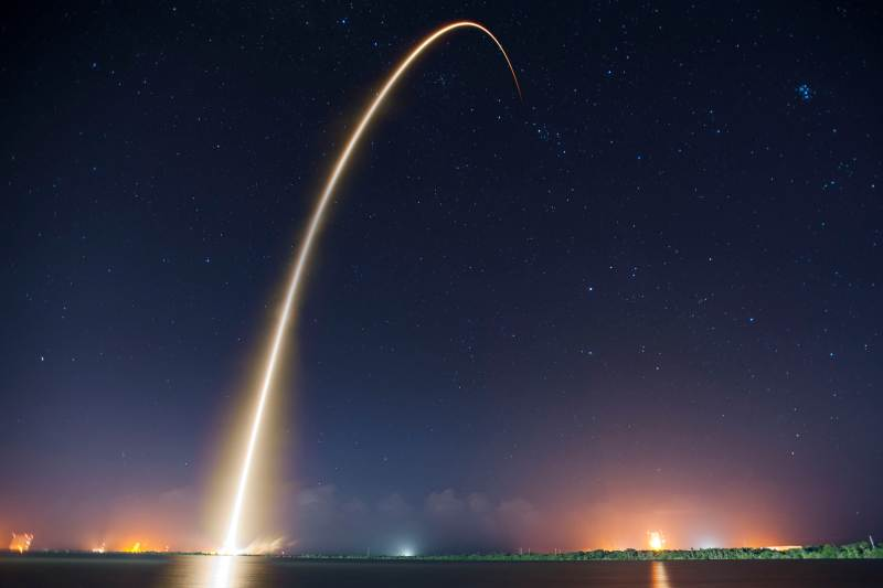 Rocket Launch (via SpaceX)