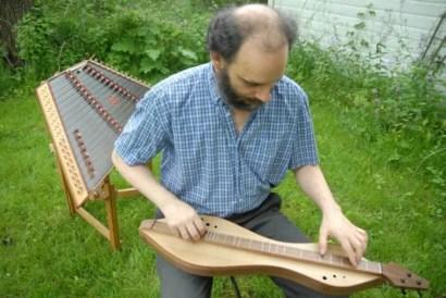 Doug Berch - Dulcimer Maker and Player