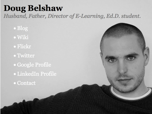Doug Belshaw - profile