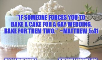 If Someone Forces You to Bake a Cake for a Gay Wedding