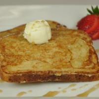 White Chocolate French Toast