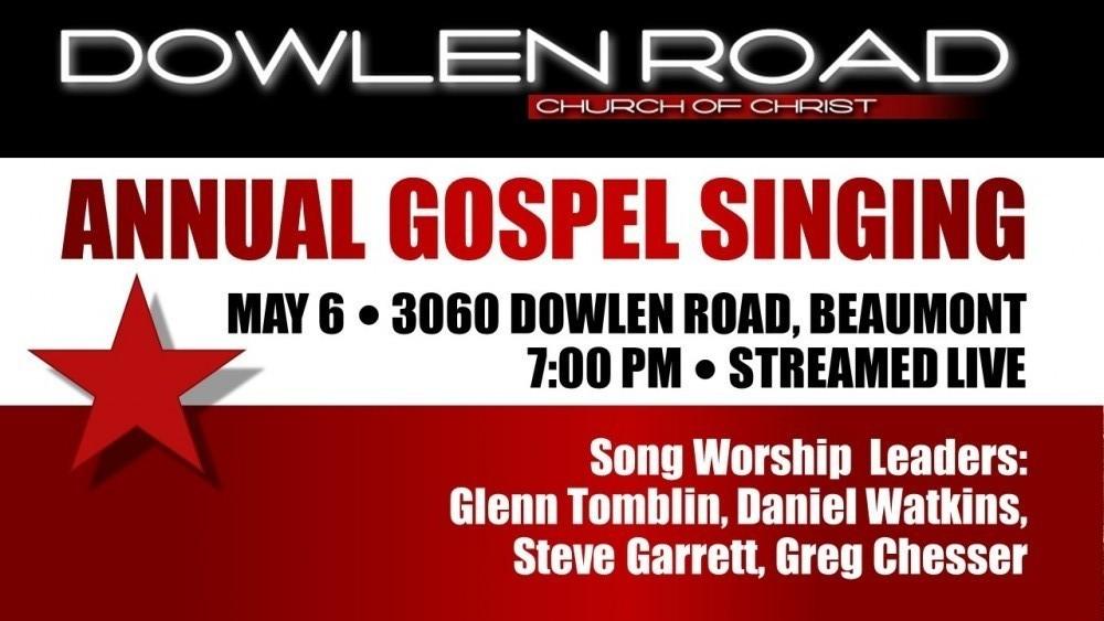 Annual Gospel singing