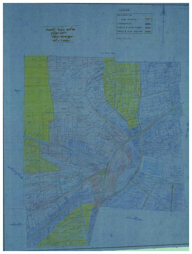 Nalbari Town Land Use Plan Map-4
