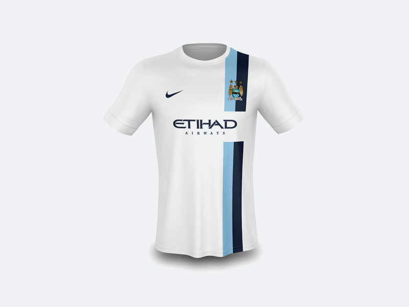Realistic T-Shirt Mockup Free PSD