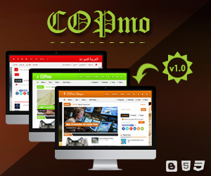 COPmo - Best Responsive Blogger Template!