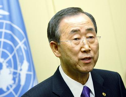 Secretário-Geral da ONU, Ban Ki-moon